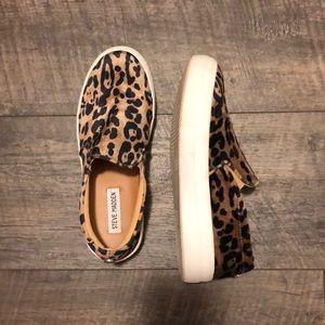 Steve Madden Leopard Print Sneakers